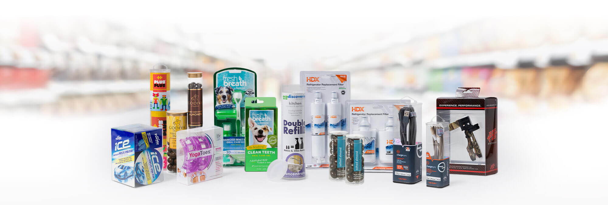 VisiPak | Clear Plastic Packaging Tubes, Containers, Clamshells, Boxes